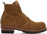 Visvim Brown Folk Zermatt Boots