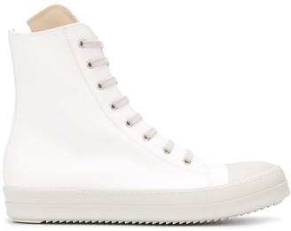 Rick Owens Chunky Sole High-Top Sneakers