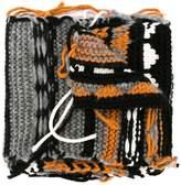 Sonia Rykiel intarsia knit scarf