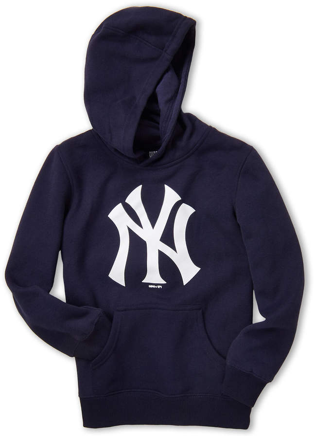super popular 9cb39 27521 Boys 8-20) Navy & White New York Yankees Hoodie