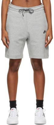 Nike Grey Tech Fleece Sportswear Shorts