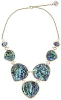 Kendra Scott Rebecca Statement Necklace in Abalone Shell