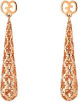 Gucci Diamantissima 18ct rose gold earrings
