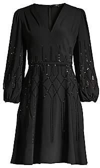 Kobi Halperin Women's Cassie Embellished Fit-&-Flare Dress