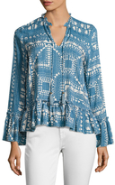 Plenty by Tracy Reese Romantic Printed Blouse