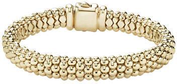 Lagos 18k Gold Signature Caviar Rope Bracelet