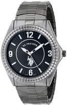U.S. Polo Assn. Classic Men's USC80028 Gun-Metal Analogue Dial Expansion Watch