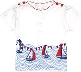 Jo-Jo JoJo Maman Bebe Nautical T-Shirt (Baby)-White-12-18 Months