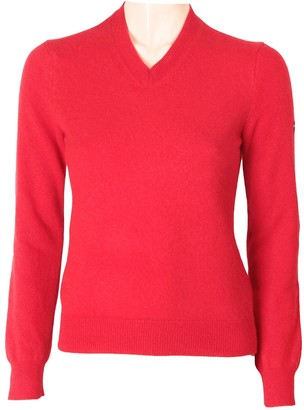 Comme des Garcons Play Play Red Wool Knitwear