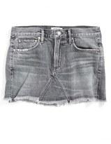 A Gold E Women's Agolde Jeanette Denim Miniskirt