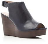 Kenneth Cole Olcott Open Toe Platform Wedge Sandals