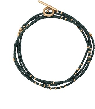 M. Cohen Contrast Beaded Bracelet