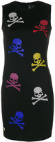 Philipp Plein skull embellished dress