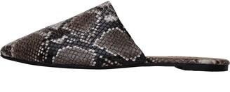 Fluid Womens Mule Shoes Snake