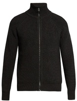 Belstaff Harleston Ribbed Wool Cardigan