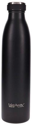 TakeAway Edit Double Wall Stainless Steel Water Bottle 750ml Carbon Black