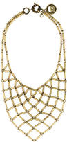 Giles & Brother Chain Mesh Bib Necklace