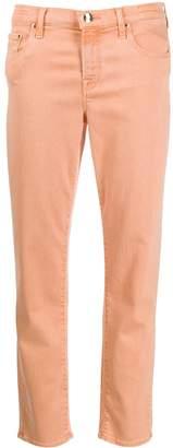 Jacob Cohen high rise Kimberley straight leg jeans