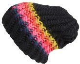 Free People Women's Over The Rainbow Beanie - Black