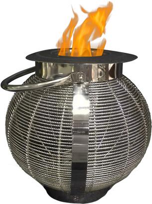 Anywhere Fireplaces Jupiter 2 In 1 Lantern/Fireplace