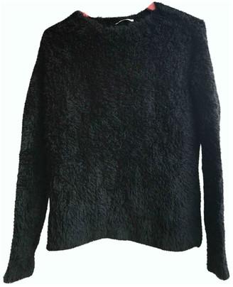 Gas Jeans Black Wool Knitwear