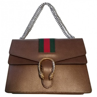 Gucci Dionysus Brown Leather Handbags