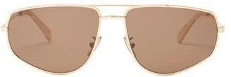 Celine Aviator Metal Sunglasses - Gold