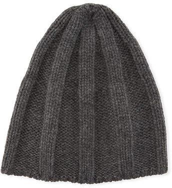 df9977699740e Cashmere Ribbed Hat Men - ShopStyle