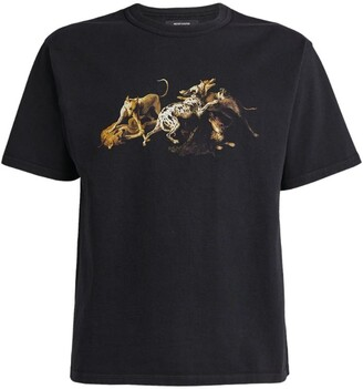 Reese Cooper Fighting Dogs Graphic T-Shirt