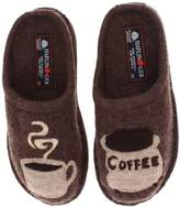 Haflinger Women's AR Coffee Flat,