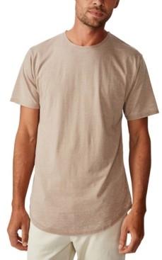 Cotton On Longline Curve Hem Burnout T-Shirt
