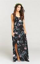 MUMU Kendall Maxi Dress ~ GWSXMumu Wedding Soiree
