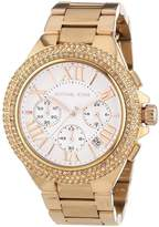 Michael Kors Camille MK5636 Rose Gold Stainless Steel with White Dial 43mm Womens Watch