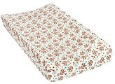 Trend Lab Lullaby Zoo Deluxe Flannel Changing Pad Cover Nursery Decor