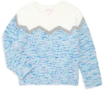 Design History Little Girl's & Girl's Fair Isle Sweater
