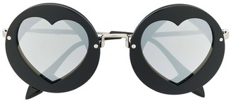 MonnaLisa Round Heart Sunglasses