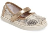 Toms Toddler Girl's Tiny Mary Jane Flat