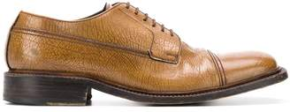 Prada Pre-Owned 1990's textured derby shoes