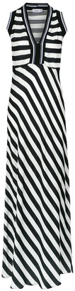 AMIR SLAMA Striped Maxi Dress