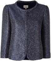 Armani Collezioni glitter jacket - women - Cotton/Polyester/Viscose/other fibers - 40