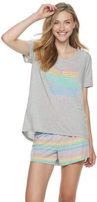 So Juniors' SO Graphic Pajama Set