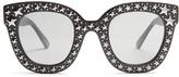 Gucci Oversized embellished acetate sunglasses