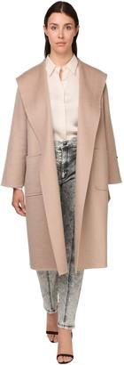 Marina Rinaldi Double Cashmere Hooded Coat