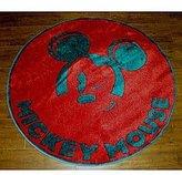"General Industries Disney RNES-TSC-012 Mickey Winking Rug - 39\""x39\"""