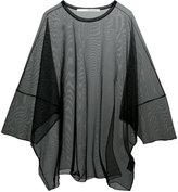 Isabel Benenato sheer loose T-shirt - women - Polyamide/Spandex/Elastane - 42
