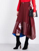 Roksanda Oriana wool-blend midi skirt