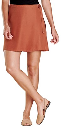 Toad&Co Hillrose Wrap Skirt (Coconut Shell) Women's Skirt