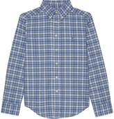Ralph Lauren Pony Checked Cotton Shirt 6-14 Years