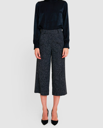 Forcast Juliana Textured Culottes