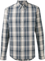 A.P.C. button down check shirt - men - Cotton - XL